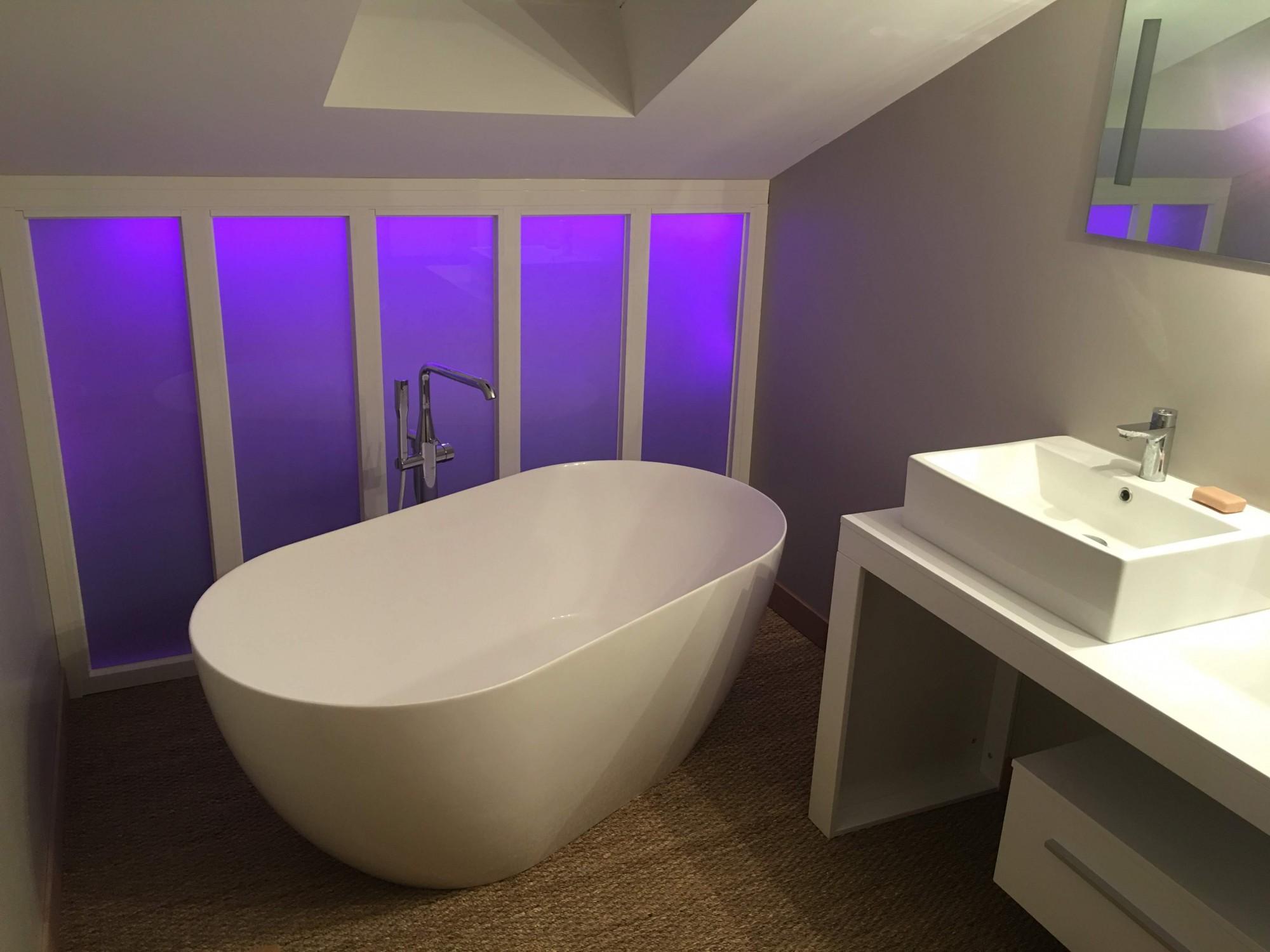 Cloison Amovible Pour Salle De Bain la cloison amovible se glisse dans votre salle de bain - cloisor